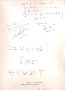 Da Verdi for ever